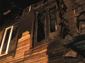 4 дома сгорели в деревне в Выксунском районе