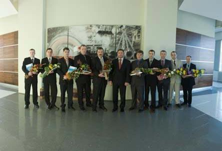 Награды за труд на литейно-прокатном комплексе