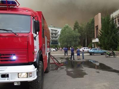 В больнице Выксы находятся трое человек, обгоревших во время пожара