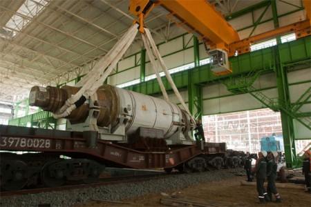 ОМК приступила к монтажу основного оборудования Стана-5000 в Выксе