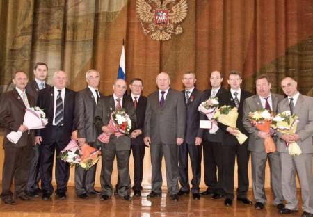 Губернатор Нижегородской области вручил награды работникам ВМЗ за пуск и освоение линии по производству труб большого диаметра 1420 мм