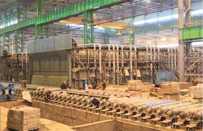 На Стане-5000 ведутся работы по монтажу технологического оборудования
