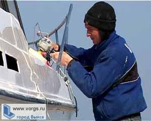 В Выксе прошла первая тренировка юных яхтсменов