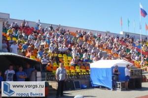 В субботу состоялся праздник в честь столетия выксунского футбола