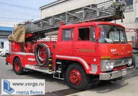 Пожарная дружина п. Виля стала лучшей в Приволжье