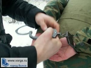 Выксунская полиция задержала федерального преступника