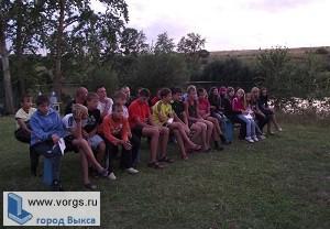Для трудных подростков в лагере «Костер» проходит профильная смена