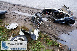 В Выксе Камаз столкнулся со скутером