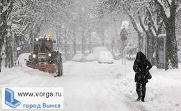 В Выксе аномальные холода будут сохраняться до конца недели