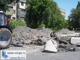 В Выксе завершили ремонт газопровода