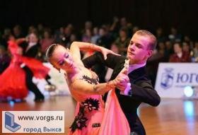 Спортсмены из Выксы взяли «серебро» на турнире по танцам
