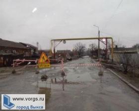 В Выксе из-за аварии на канализационном коллекторе снова отключили воду