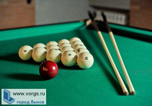 В Выксе проходил турнир по бильярду «Акула шара»