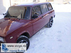 В Выксе сгорел ВАЗ 2104