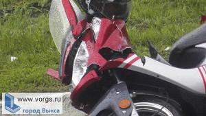 В Выксе Газель врезалась в скутер