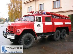 В ПФО победили пожарные ВМЗ