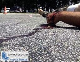 На трассе Выкса- Сатис Киа сбила пешехода