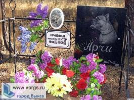 В Выксе горожане сделали могильник домашних животных