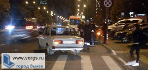 В Выксе ВАЗ сбил пешехода