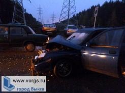 В Выксе произошло ДТП при участии 4-х авто