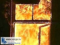 В Нижней Верее загорелся дом