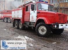 В Выксунской области сгорела баня