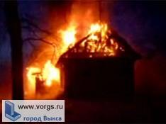 Во время пожара погибла пожилая женщина