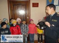 В Выксе сотрудники ГИБДД провели для школьников экскурсию
