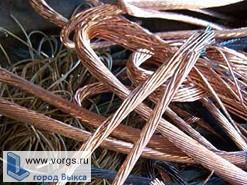 В Выксе с предприятия вынесли 30 килограмм медного кабеля