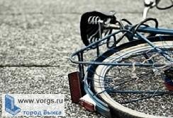 Иномарка сбила велосипедиста
