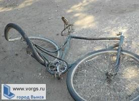 В Выксе сбили велосипедистку