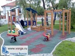 В Выксунском парке сделают детскую площадку
