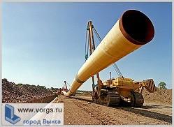 В поселке Виля начали строить газопровод III очереди