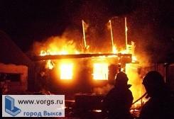 В селе Туртапка загорелся сарай