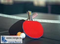 В Выксе прошел турнир по настольному теннису