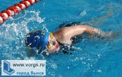 Выксунцы заняли призовые места в новогоднем турнире по плаванию
