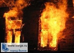 В поселке Виля сгорел дом, в результате чего погиб мужчина