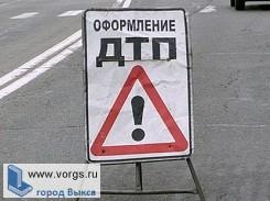 В Выксе произошло ДТП с участием двух автомобилей
