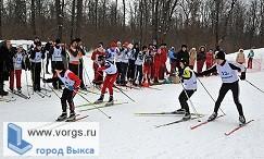 В поселке Виля прошла лыжная эстафета
