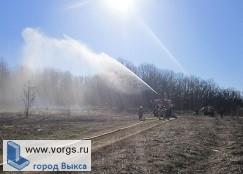 В поселке Виля прошли пожарно-тактические учения