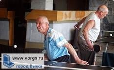 В Выксе прошли соревнования по настольному теннису и стрельбе среди ветеранов