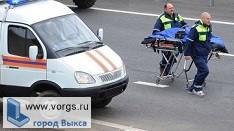 В Выксе на улице Ленина произошло ДТП