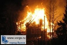 В Виле произошел пожар, в результате которого погиб мужчина