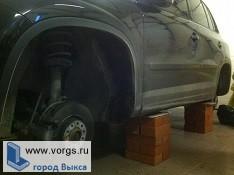 В Выксе неизвестные похитили колеса с двух машин
