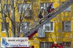 В микрорайоне Гоголя чуть не сгорела квартира