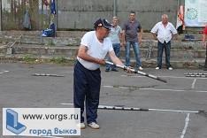 В областных соревнованиях городошного спорта победу одержали выксунские ветераны
