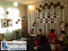 В Выксе прошли соревнования по шашкам среди детсадов