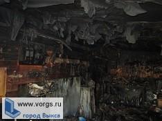 В поселке Виля сгорел гараж