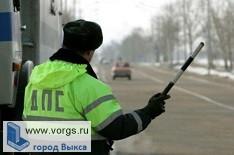 Сотрудники Госавтоинспекции задержали водителя грузовика