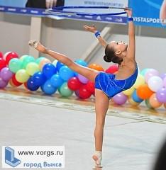 Гимнастки из Выксы показали хороший результат в турнире